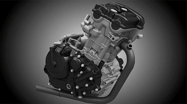 khối động cơ Suzuki GSX-S150