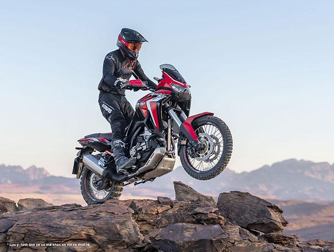 Mẫu xe môtô của Honda Africa Twin 2021