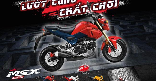 D òng moto của Honda MSX125 lướt cùng chất chơi