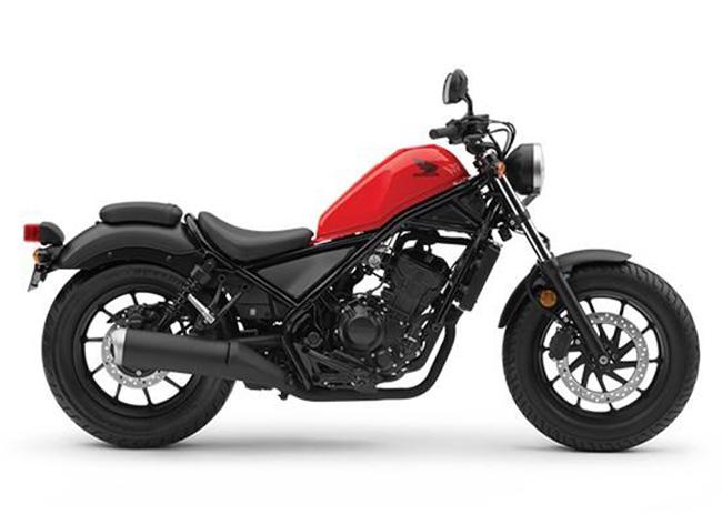 Mẫu moto Honda Rebel 300 trang bị động cơ hiện đại