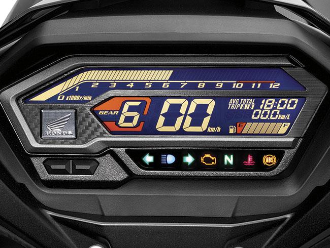 mặt đồng hồ hiện đại Honda Winner X