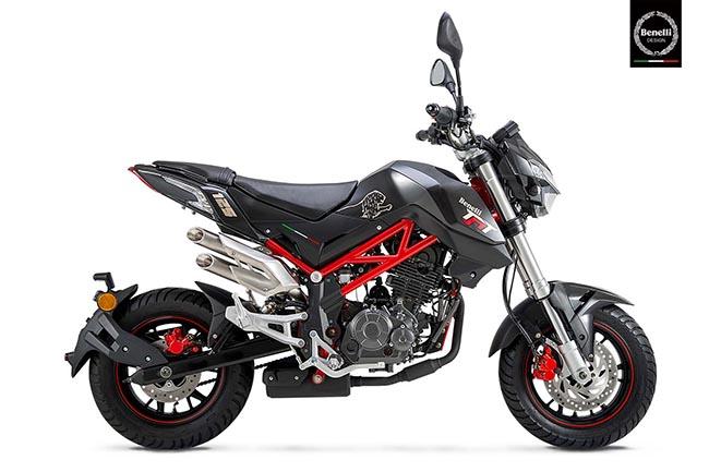 moto cho người cao 1m60 Benelli TNT 125