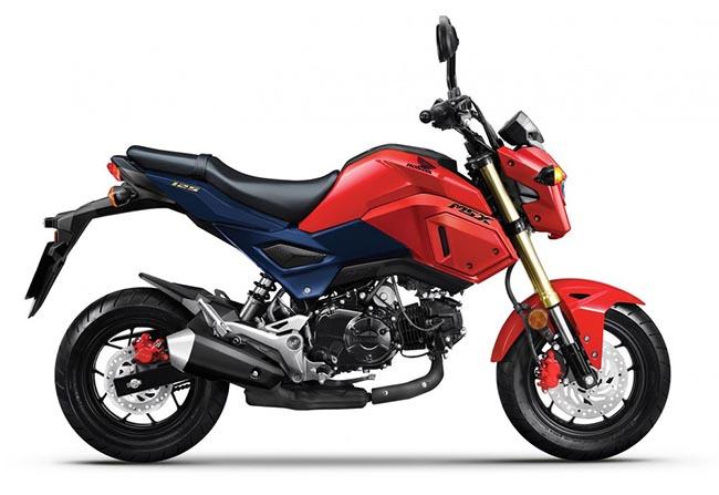 xe mô tô cho nữ Honda MSX 125