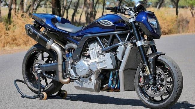 mô tô đẹp nhất trên thế giới PGM 2.0 Liter V8