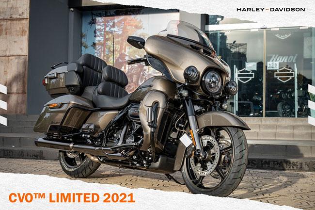 moto đắt nhất hiện nay CVO Limited phiên bản Bronze Armor