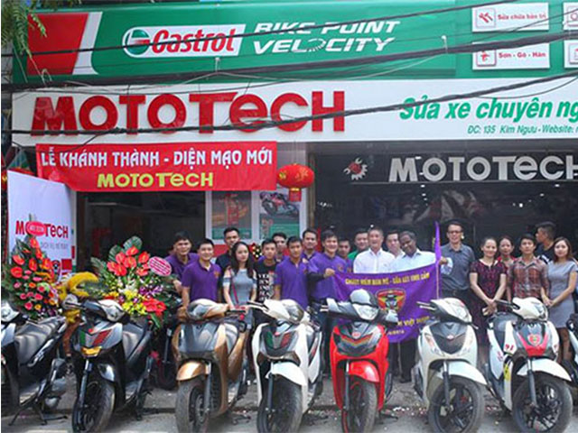 Mototech – Đơn vị uy tín nhất sửa xe máy tại nhà Hà Nội