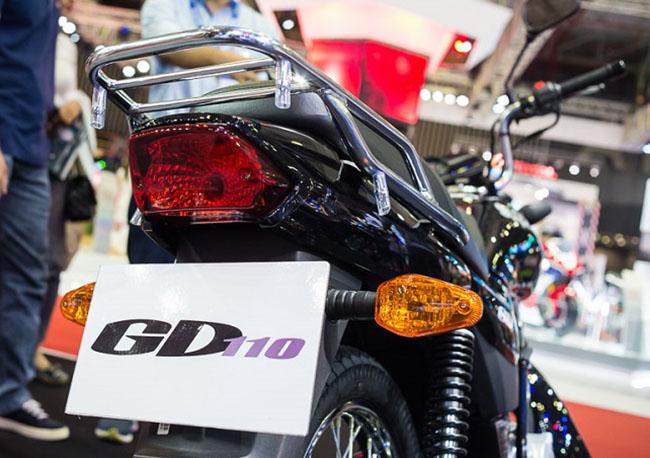 Suzuki GD110 baga sau nhỏ gọn