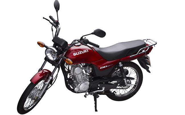 xe côn tay dưới 40 triệu Suzuki GD110 với thiết kế backbone cổ điển