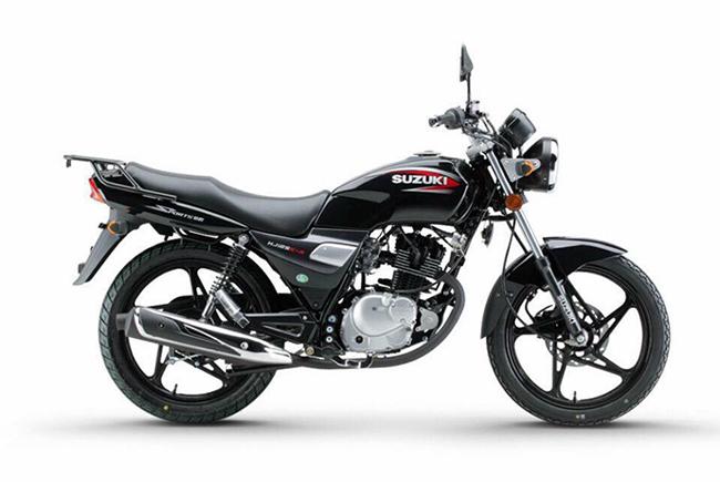 xe côn tay giá dưới 40 triệu Suzuki HJ125 màu đen