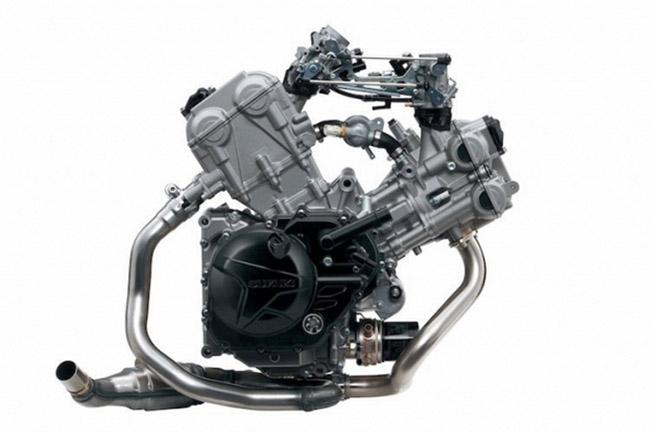 khối động cơ Suzuki SV650