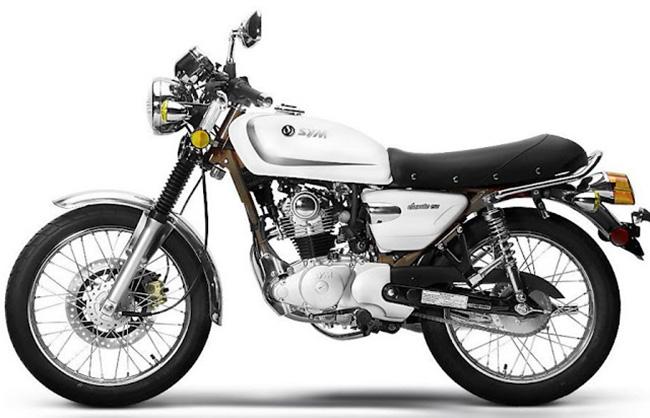 xe côn tay Suzuki Husky Classic 125 dưới 40 triệu màu trắng