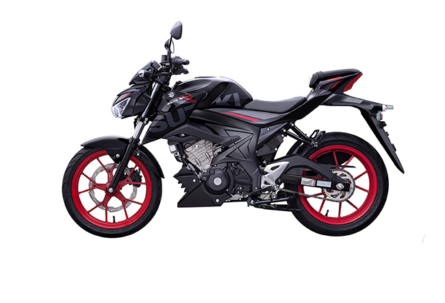 Suzuki GSX S150 xe moto cho nữ thấp
